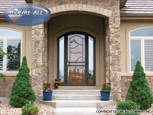 Security Doors Security Storm Doors Wrought Iron